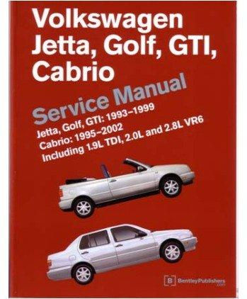 amazon com 1993 2002 2001 vw cabrio golf gti jetta shop service rh amazon com 2002 volkswagen cabrio manual 2002 vw cabrio manual