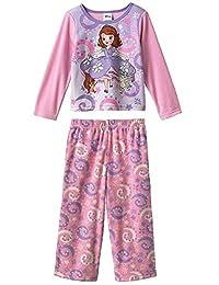 Disney Sofia The First Toddler Fleece Pajama Set, Girls Sizes 2T-4T