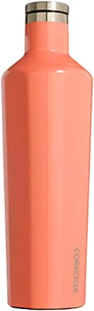 Acero Inoxidable Gloss Peach Echo 74 cl Corkcicle Classic Botella isot/érmica