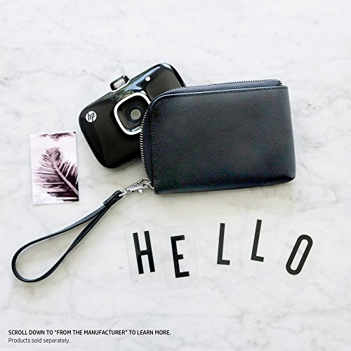 HP Sprocket Black Wallet Case (2HS23A)