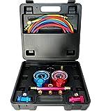 Enviro-Safe R1234YF Gauge Set and Vacuum Pump Adapter 3105