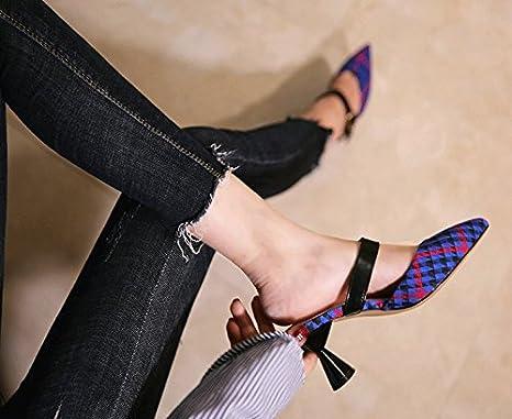 SFSYDDY Zapatillas deportivas europeas y americanas de moda para ...