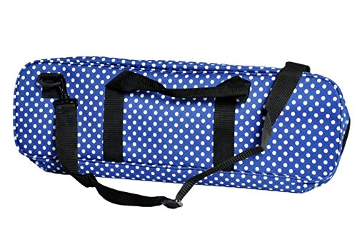 Deluxe Chess Bag - ROYAL / WHITE - by US Chess Federation