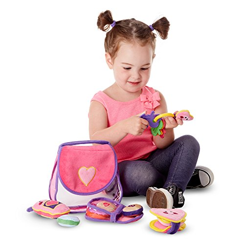 51I0JsrnbYL - Melissa & Doug Pretty Purse Fill and Spill Soft Play Set Toddler Toy