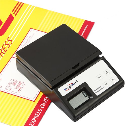 USPS Style 25 Lb x 0.1 OZ Digital Shipping Mailing Postal Scale with (0.1 Ounce Packages)