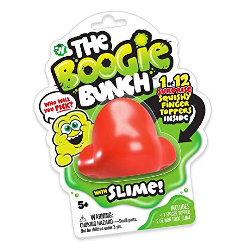 - Big Game Toys~Boogie Bunch Snotz Snot Nose Slime Booger Pop Surprise Toy Blind Pack Figure Includes BGT Tote Bag