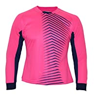 Vizari Women's Aura GK Jersey, Pink/Navy, Adult Large