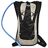 Resting Ark 2L Hydration Pack w/Water Bladder, Tube, Bite Valve | Day Hiking, Outdoor Running, Fitness | Tactical, Heavy-Duty | Breathable Mesh Backing, Adjustable Straps For Sale