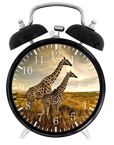 Cute Giraffe Alarm Desk Clock Home Office Decor F100 Nice For Gifts