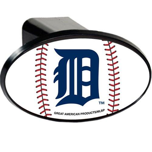 Plastic Detroit Tigers Trailer Hitch Cover