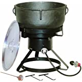 Amazon Com King Kooker 5920 5 Gallon Heavy Duty Cast Iron