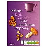 Wild Mushroom & Madeira Cup Soup Waitrose 4 x 24g