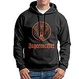 SuperFF Men's Jagermeister Logo Hooded Sweatshirt
