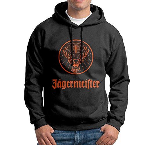 SuperFF Men's Jagermeister Logo Hooded Sweatshirt (Liqueur Jagermeister)