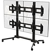 Crimson AV VWM263 MULTI-DISPLAY 2X2 CART FOR 37 TO 63+ DIS