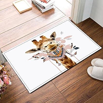 Amazon.com: LB Giraffe in Bandana Neck Scarf Small Bedroom ...