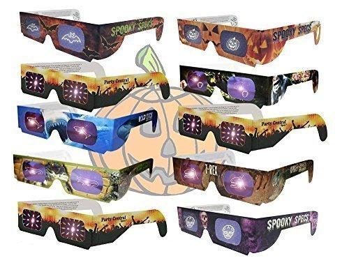 Halloween Fright Glasses Survival Funkit - 10 Glasses -