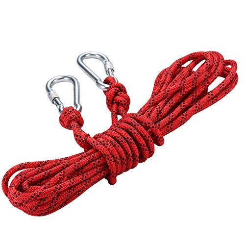New Core Woven Pant (20 M Professional Climbing Rope abseiling rope Outdoor Excursions Accessories 8mm Diameter 9KN High Resistance Rope (20))