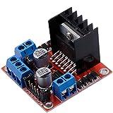 HONG111 L298N Arduino Micro Controller Board, 5V-35V Dual H Bridge Stepper Motor Driver L298N Module