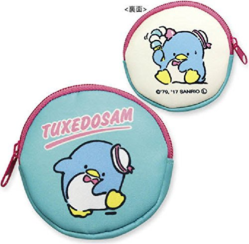 Tuxedo Sam Circle Coin Case Coin Purse