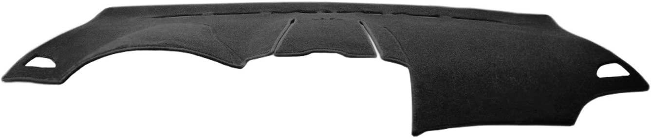 12-14 Black J27 Yiz Dash Cover Mat Custom Fit for Toyota Camry 2012 2013 2014