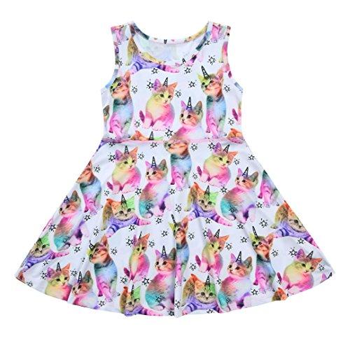 Liliane Tutu Dress for Girls Summer Dresses for Girls Dress 4t 5t Dresses for Girls(A009,4-5Y) by Liliane (Image #1)
