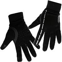 Prettyia Men Women Winter Warm Outdoor Sports Touch Screen Windproof Waterproof Cycling Gloves