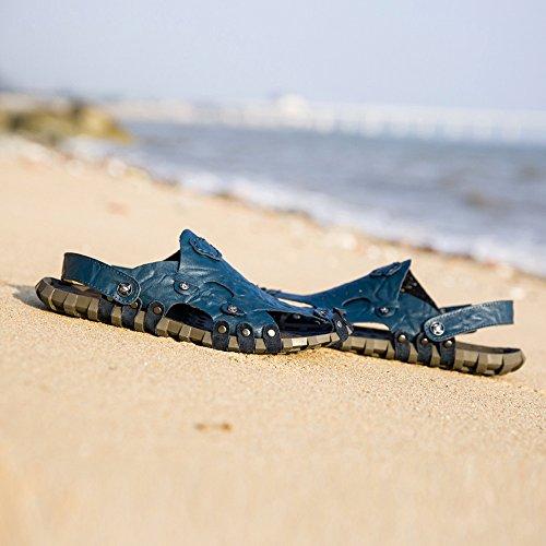 Uomo 5 39 Blue Blu EU Sandali XZP OvxqzwUn