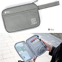 Sumger Travel Wallet Passport Holder Wallet Portable Waterproof Travel Organizers