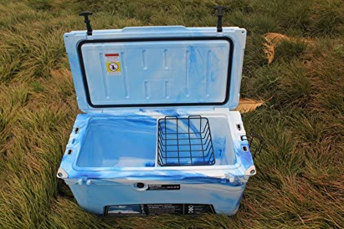 MILEE Heavy Duty Cooler 75 QT 50 Accessories Included Divider,Cup Holder and Basket are Free.