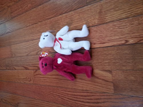 Lot of Ty Beanie Babies - Valentino and Valentina, used for sale  Delivered anywhere in USA