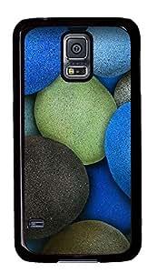 Samsung Galaxy S5 Colored Rocks PC Custom Samsung Galaxy S5 Case Cover Black