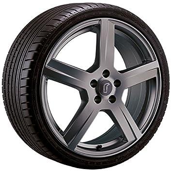 De aluminio - Rueda para invierno Rondell 0223 en 15 pulgadas con 195/65 R 15 Continental 91 T Invierno Contact ts850 para Volkswagen Touran tipo 1T: ...