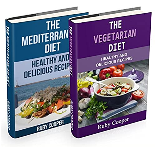 Diet Box Set 2 in 1 - The Mediterranean Diet+The Vegetarian Diet (mediterranean cooking) Healthy (mediterranean cookbook) Weight Maintenance & Low Fat Lifestyle: Healthy and Delicious Recipes