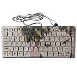 Mortal Dream Ultrathin Mini Keyboard Chinese Opera Actress 1 Wired Gaming Keyboard Computer Accessories Custom Printing Keyboards For Laptop
