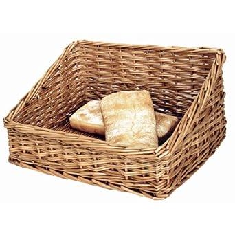 Pan cesta de pantalla 170 x 360 x 300 mm bandejas de almacenamiento cesta de mimbre