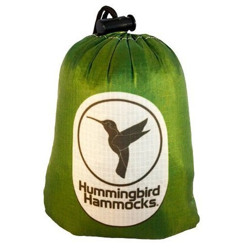 Hummingbird Hammocks Ultralight Single Plus Hammock, Forest Green