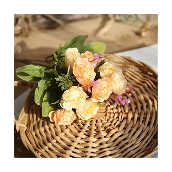 Inverlee-1Pcs-10-Heads-Artificial-Flowers-PE-Rose-Floral-Fake-Flowers-Wedding-Bridal-Bouquet-DIY-Home-Garden-Decor