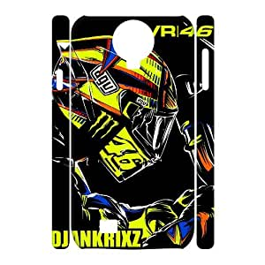 Valentino Rossi theme pattern design For Samsung Galaxy S4 I9500(3D) Phone Case