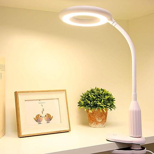 Control Táctil Cuidado a Vista LED Flexo Lampara Pinza ...
