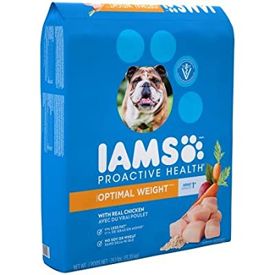 Iams Proactive Health Adult Optimal Weight Dry Dog Food 29.1 Pounds