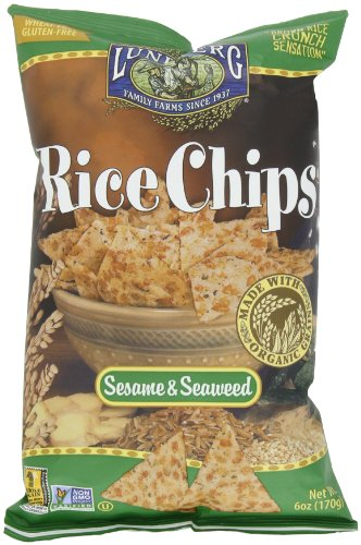 (Lundberg Rice Chips, 6 Ounce (Pack of 12))