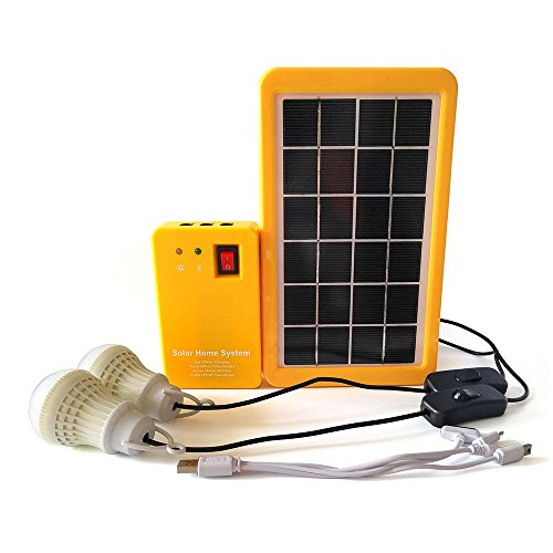 portable rechargeable solar generator system
