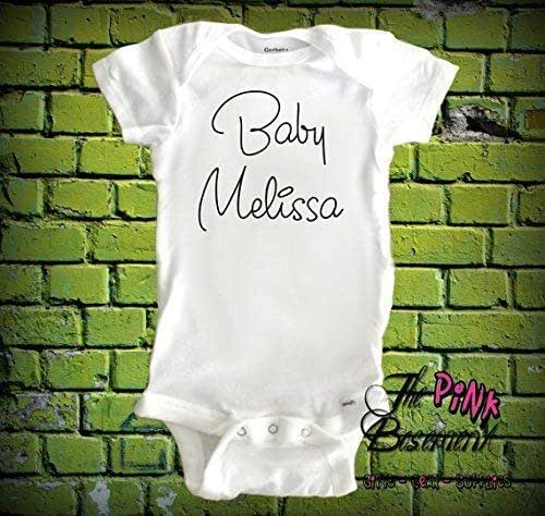 100/% Perfect Embroidered Baby T-Shirt Gift Personalised Shower Funny Boy Girl