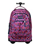 Jansport Driver 8 Core Series Wheeled Backpack (One Size, MULTI DIAMOND ARROWS)