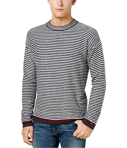 Tommy Hilfiger Men's Donald Stripe Sweater (Multi, L)