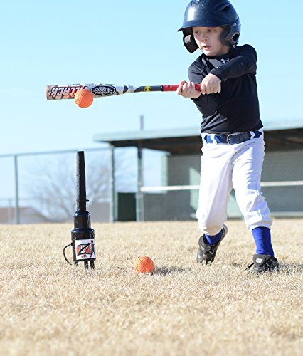 Hit Zone Jr Air Powered Batting Tee For Baseball / Softball / T Ball - Ball Floats In Mid Air - Training Aid- MADE IN THE USA! by Hit Zone