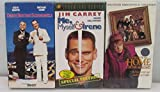 Three VHS Comedy Bundle Includes: Me, Myself & Irene - Dirty Rotten Scoundrels - Home For The Holidays