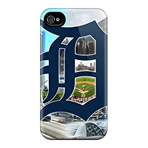 Anti-scratch And Shatterproof Detroit Phone Case For Iphone 4/4s/ High Quality pc Case