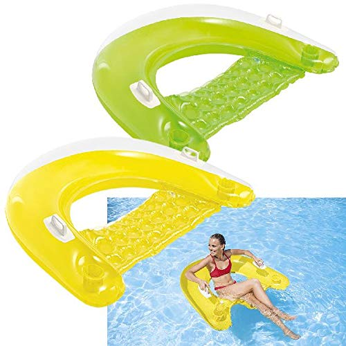 - Intex Sit N Float Inflatable Lounge, 60